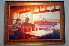"""Those Were the Days"" Oil Painting by Gary Whinn - Automobilia - Petroliana AFAS"