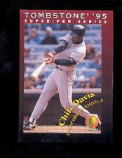 1995 Tombstone CHILI DAVIS California Angels Card Mint
