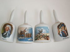 Set Of 4 Limited Edition American Bicentennial Bells