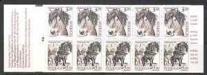 Sweden 1994 Horses/Animals/Nature 10v bklt (n22908)
