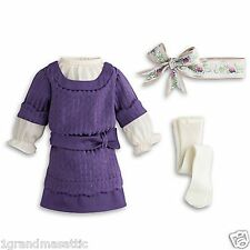 American Girl Rebecca's Hanukkah Dress NIB Dress Ribbon Shoes NO DOLL Retired
