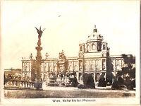 Großes CAB Foto Naturhistorisches Museum in Wien - 1870er