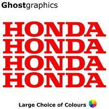 Honda Logo Stickers Decal X4 200mm Belly Pan Tank Fairing Motorbike Car