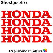Honda Logo Stickers Decal X4 280mm Belly Pan Tank Fairing Motorbike Car