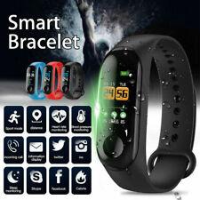 M3 Smart Band Watch Bracelet Wristband Fitness Tracker Blood Pressure HeartRate
