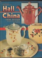 HALL CHINA VALUE GUIDE COLLECTOR'S BOOK LARGE HARDBACK COLOR PHOTOS 3rd Edition