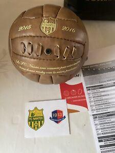 Rare Collector FC Nantes 37 ème Journée 2015 16 Contre Caen Foot Ligue 1 VIP