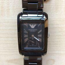 Mens Ceramic Emporio Armani Watch AR1406