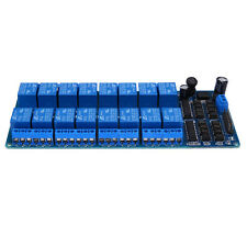 16 Channel 12V Relay Module Board Optocoupler Power Supply Arduino ARM DSP
