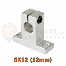 Wellenhalter SK12 12mm linear rail shaft SH12A 3D Drucker Printer CNC RepRap