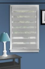 Achim Celestial Grey Cordless Light Filtering Double Layered Roller Shade