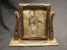Antique Art Deco Swivel Picture Frame 1920's Shabby Chic