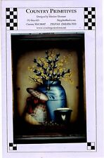 Decorative Primitive Painting Pattern Packet SPRING TIME CLOCK by Maxine Thomas