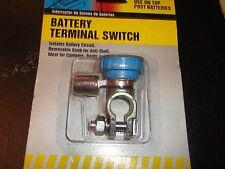 BATTERY TERMINAL SWITCH -ANTI-THEFT- On AUTO,Rvs,MARINE,FARM- CALTERM 30089