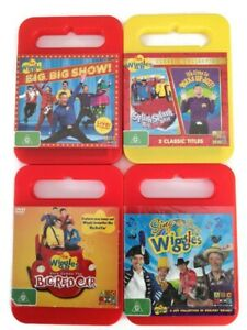 The Wiggles Children DVD Video Music  Disc Set of 4 Collection Bundle Bulk Lot