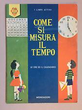 Come si misura il tempo di Wells Welsh illustrazioni di Kaufman Mondadori 1964
