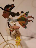Karen Rossi Fanciful Flight Silvestri Harvest Ornament Metal Art Collectibles