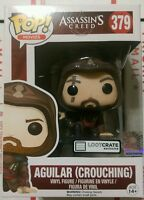 Loot Crate Assassin's Creed Aguilar (Crouching) Dunno POP! Figure 379 Vinyl