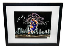 KOBE BRYANT Autographed 8x10 Lakers Framed Signed Photo PSA/DNA Certified COA