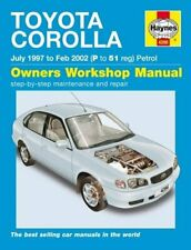 Haynes Manual Toyota Corolla E11 97-02 Petrol Brand New SEALED 4286