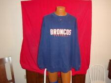 Nike - Denver Broncos Football Crew Neck Sweatshirt - Size: XXL 2XL - NFL