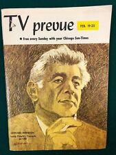TV PREVUE Chicago Sun-Times digest February 19 1967 Leonard Bernstein cover