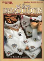 36 Easy Bread Cloths in Counted Cross Stitch 1997 Leisure Arts 2929