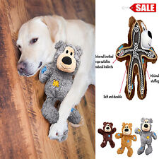 Dog Squeaky Toy Wild Bear Knots Durable Soft Stuffed Pet Puppy Toys Kong
