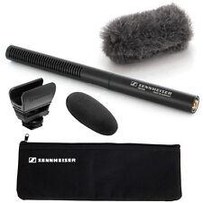 Sennheiser MKE600 Shotgun Video Camera Microphone + MZH600 Hairy Windscreen Kit