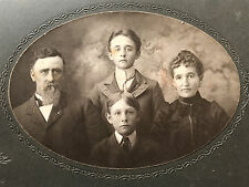 Fabulous Victorian Cabinet Photo - Super Creepy Family