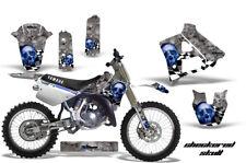 Yamaha YZ250 Graphic Kit Wrap Dirt Bike Decals MX Stickers 1991-1992 CHECKERED U