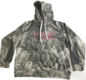 Cabela's Seclusion 3D Open Country Pullover Hoodie Sweatshirt Women's XL