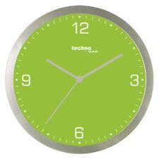 Technoline, WT 9000 Quarzwanduhr, grün, Ø 30cm