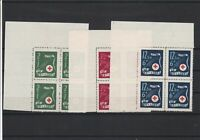 Croatia Red Cross  Mint Never Hinged Stamps Blocks ref R 18354