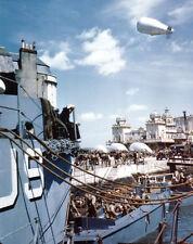 6x4 Photo ww1A5 Normandy Weymouth  Boarding USS Thurston AP 77 Force Omaha