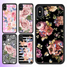 iPhone X 8 8 Plus 7 6 6s SE 5 Case Flower III Bumper Shockproof Cover For Apple