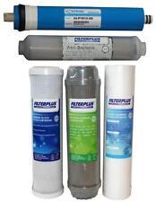 """50GPD Kit De Filtro De Repuesto - 10"""" Sedimento Carbono y membrana de ósmosis inversa"""