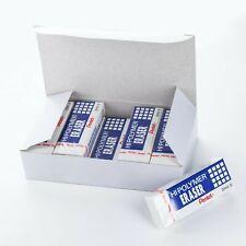 Pentel Hi Polymer Block Eraser Large White Pack Of 10 Zeh 10 Erasers Zeh1