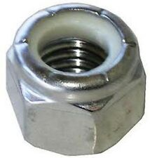 stainless Steel M6 Nylon Insert Lock Nut pack of 10