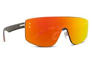 VonZipper ALT Lightwave Sunglasses Black Satin / Red Chrome Lens LTD
