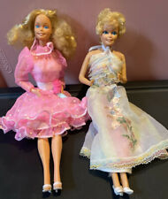 2 Vintage 1980's Mattel Happy Birthday Barbie Dolls