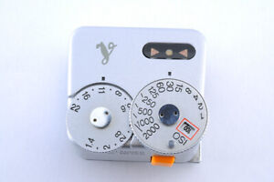 [TopMint] Voigtlander VC meter silver from Japan Shipped by FedEx #024