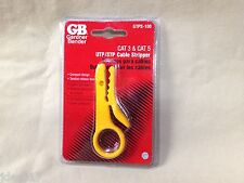 GB Gardner Bender GTPS-100 Cat 3 & Gat 5 UTP/STP Cable Stripper Compact