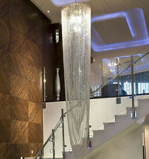 """W23.6"""" X H98.4"""" Modern Contemporary Luxury Large Crystal Chandelier"""