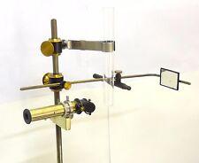 VERY RARE ANTIQUE 1870 PORTABLE BRASS SPECTROMETER SPECTROSCOPE AMAZING SCI LAB