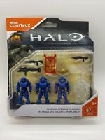 MEGA Construx Halo Spartan CTF Base Crashers 87pc Set FNR84 New Damaged Package