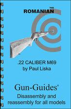 Romanian M69 Manual Book Takedown M 69 22 Caliber Guide direct from Gun-Guides