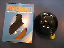 RADIUM Ampoule De Lampe globe LUMIÈRE NOIRE E27 75W G95 Tintenblau profonde