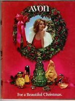 Vintage AVON 1974 CHRISTMAS SALES CATALOG (Campaign 25) Large Format
