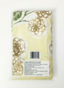 The Company Store Ashby Floral Standard Pillowcases (Yellow)